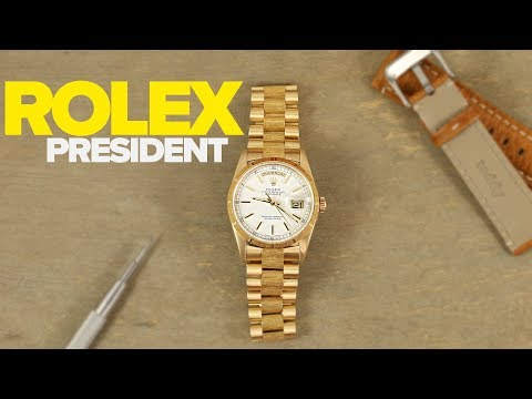 The Rolex Day-Date President: Hands On With The Watches US Presidents Made Famous (Overview 2019)