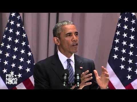 Watch President Obama speak at American University