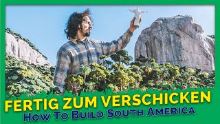 How to build South America? #5 - Dokumentation Miniatur Wunderland