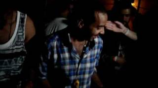 DJ Mehdi, Busy P, Brodinski tag-team set at Annie Mac WMC party, White Room Miami