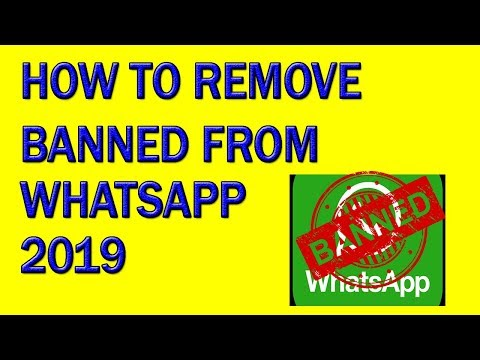 whatsapp number banned || problem slove || 2019/how to unbanned whatsapp number 2019/urdu/hindi