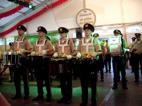 Die Werstener + Swinging Fanfares Trommelsolo