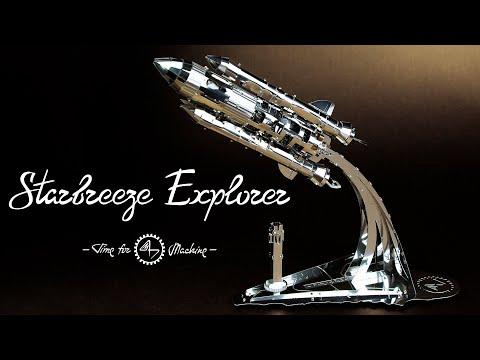 Starbreeze Explorer in action (Video taken by phone)