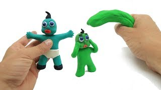 How to Make A Green Baby - Stop Motion Cartoon Video For Kids #92