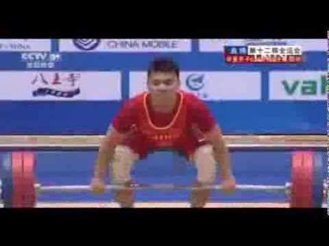 2013 China National Games Weightlifting Men's 62 kg Clean and Jerk , SEP 8