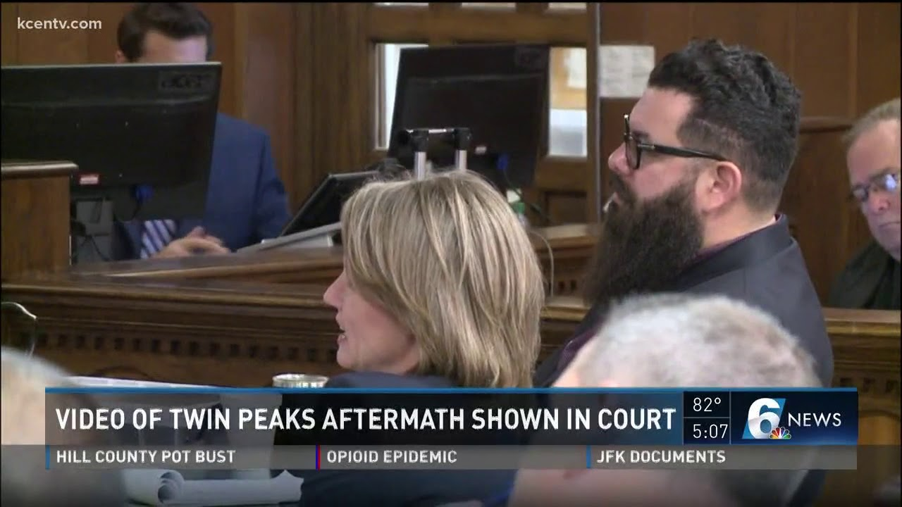 Download Video of Twin Peaks aftermath shown in court