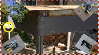 █ Заклепочник ручной. Как сделать стол. Дача или частный дом. Hand Riveter, table