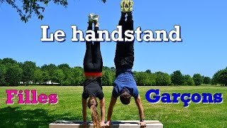 Tuto Handstand / Equilibre