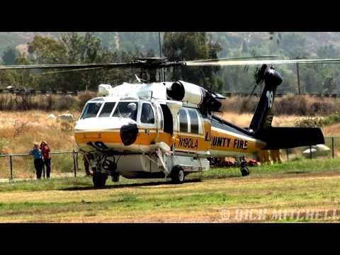 Los Angeles County Fire S-70 Firehawk