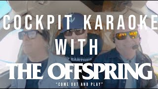"""The Offspring -  COCKPIT KARAOKE """"Come Out And Play"""""""