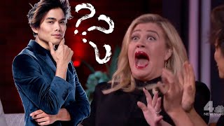 Magician Reveals & Reacts to Shin Lim // Kelly Clarkson Full Show