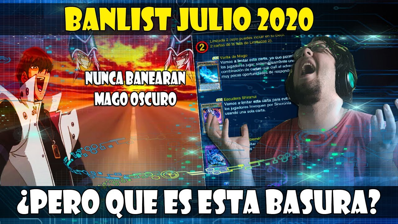 BANLIST DUEL LINKS JULIO 2020 | NO VAN A BANEAR JAMAS AL MAGO OSCURO - DUEL LINKS