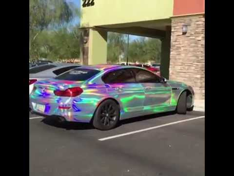 rainbow color wrap by t wrap in az   youtube