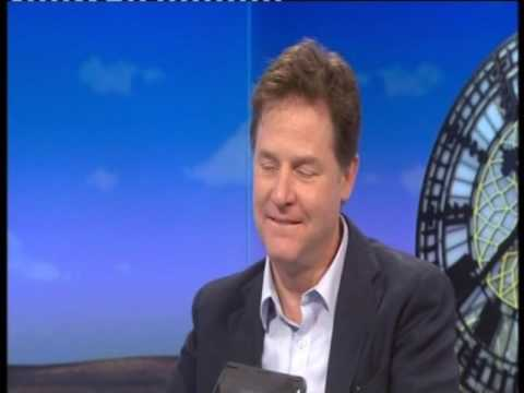 "Nick Clegg amused by Vince Cable's ""Diane Abbott moment"""