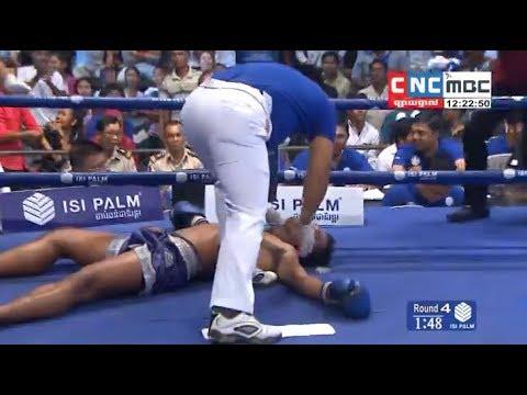 Puch Chhairithy vs Norngou(thai), Khmer Boxing CNC 21 Jan 2018, Kun Khmer vs Muay Thai