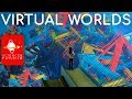 The Fermi Paradox &  Virtual Worlds: Colonizing Inner Space