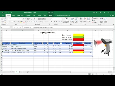 How to highlight expiry date in excel