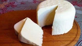 як зробити домашній сир з молока і кефіру