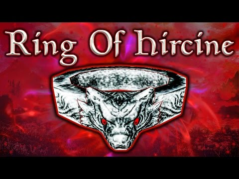 Hircine Ring Fix Mod