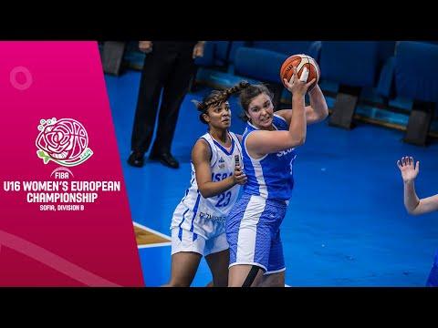 LIVE - Israel V Slovakia - FIBA U16 Women's European Championship Division B 2019