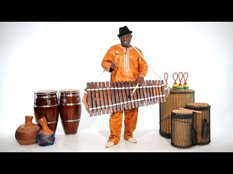 How to Play the Balafon  African Drums