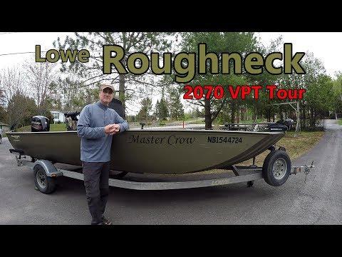 Lowe Roughneck R 2070 VPT Jon Boat Tour-2018