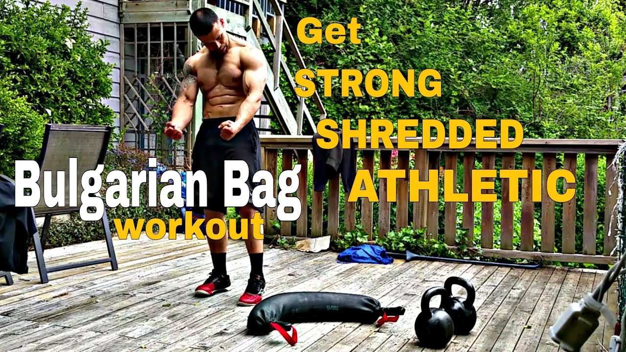 Bulgarian Bag 4 Min Core Workout Tabata Strong Shredded Athletic