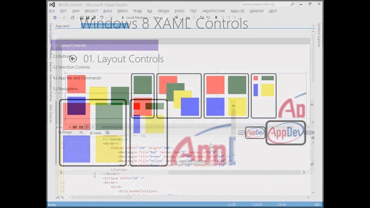 Xaml controls tutorial
