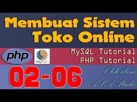[PHP Tutorial] Toko Online [ 02] Html Dan Php [ 06] Membuat Form Login Bagian 2