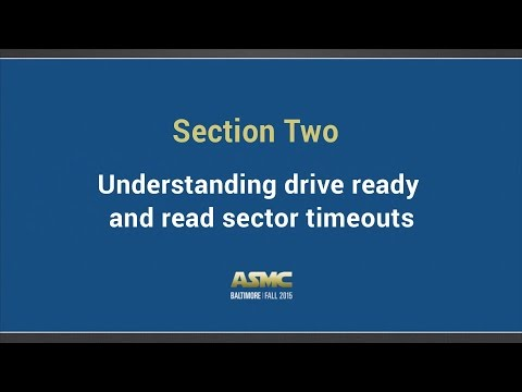 DDI Training Section 2 - Understanding drive ready and read sector timeout