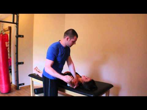 Manual Pectoralis Minor Stretch