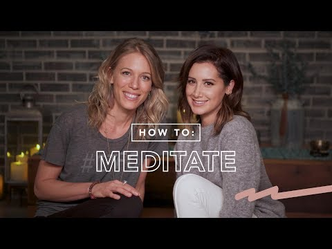 Work It Out: How to Meditate  Ashley Tisdale