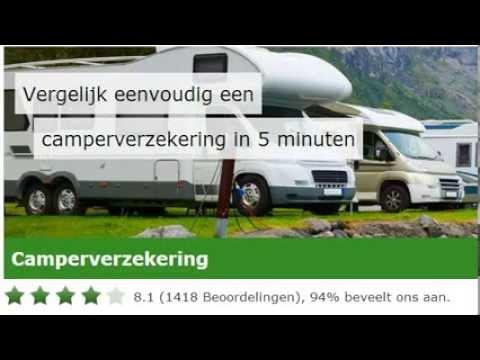 Camperverzekering