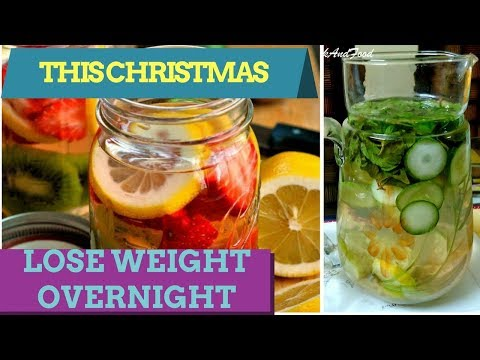THIS CHRISTMAS  LOSE WEIGHT OVERNIGHT WITH SKINNY DETOX WATER