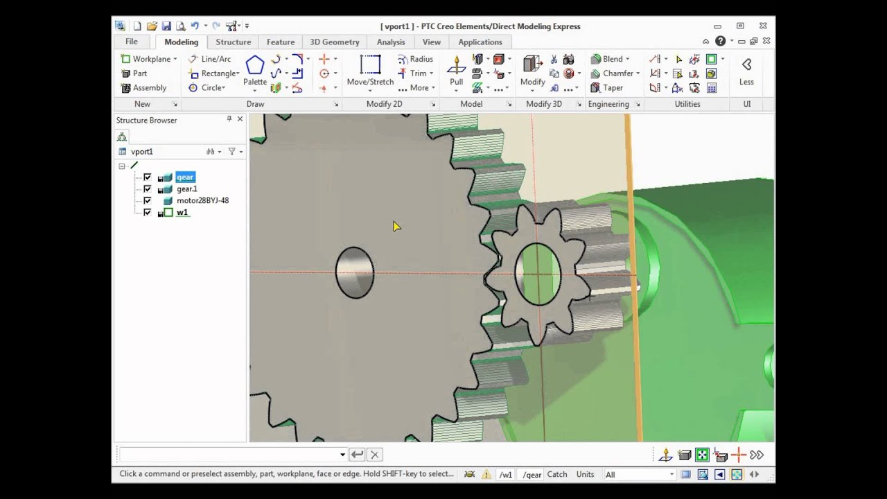 Create Gears For 3d Printing With Ptc Creo Elements Direct