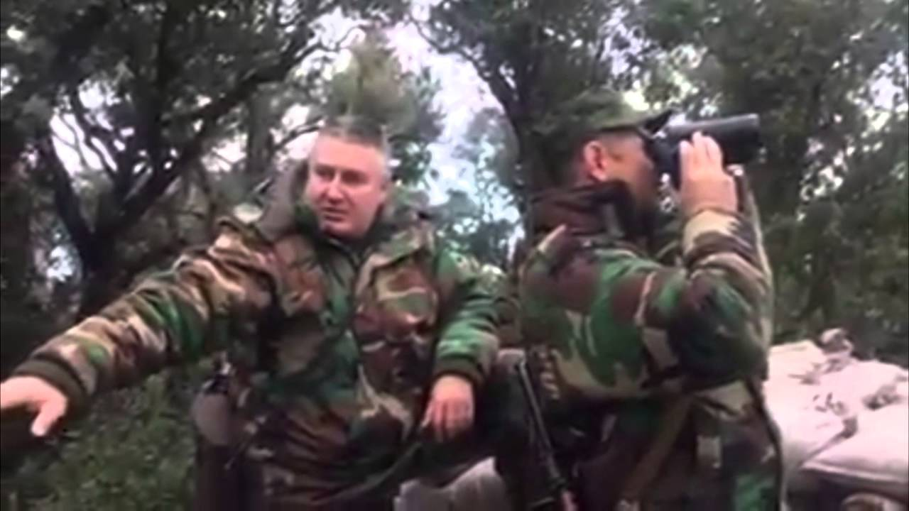 Syria, Latakia Russian General With SAA/NDF Commanders watching Battle for Salma 01/12/16