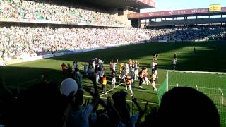 Final Cordoba - Mallorca (2014) Celebracion PLAYOFF