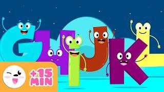 Abecedario G H I J K L - Vídeo educativo para aprender las letras