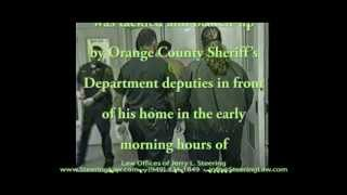 Young Man Tortured by Orange County, California Sheriff Depities for Not Answering Questions