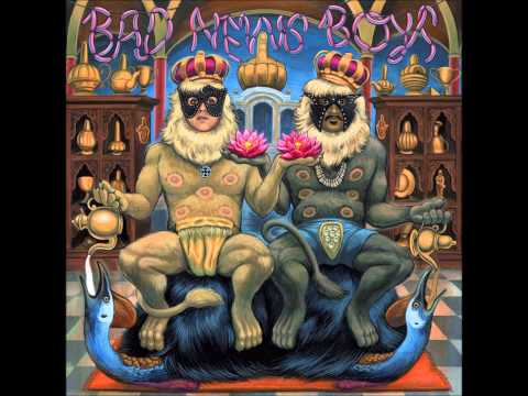 "King Khan & BBQ Show ""Alone Again"" - 'Bad News Boys' LP (2015, In The Red Records)"