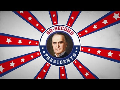 William McKinley | 60-Second Presidents | PBS