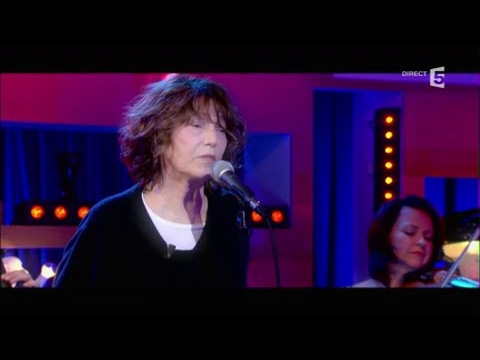 Jane Birkin, en Live - C à vous - 30/03/2017