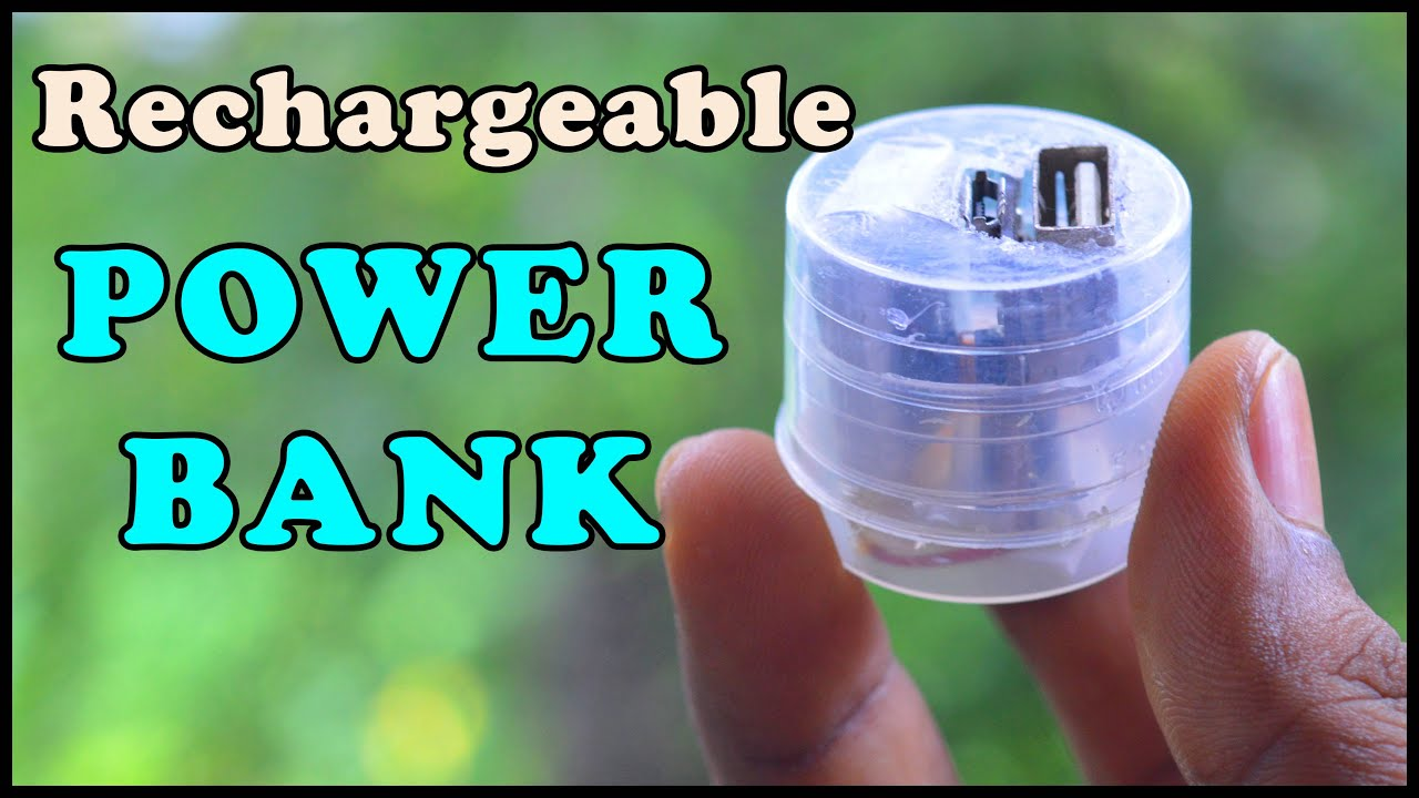 How To Make A Rechargeable Power Bank At Home Diy Youtube Diagram Mesothelial Cells S Inverter Circuit Diagramcircuit