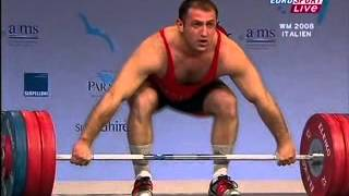 2008 European Weightlifting 94 Kg Snatch