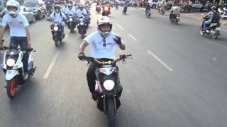 I LIKE MOTO Cambodia all members join KTM Charity