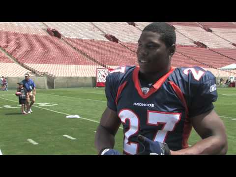 Upper Deck Interviews Knowshon Moreno,  NFL No. 12 Draft Pick