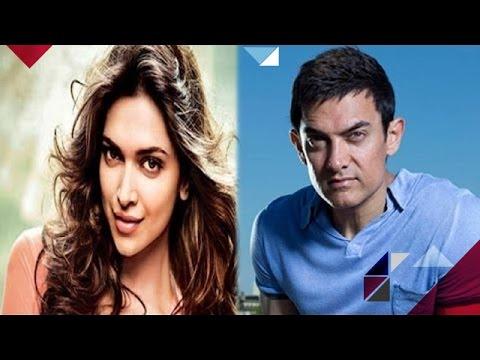 Deepika Being Forced To Grow Bushy Eyebrow   Aamir Gets ...