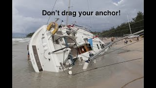 Anchoring, how to stop dragging and be secure.
