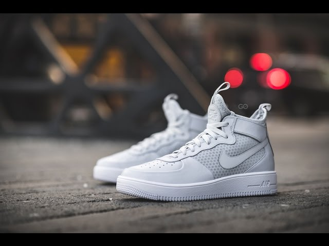 Unboxing : Nike AIR Force 1 High Premium iD Sail Suede #MYNIKEiDs