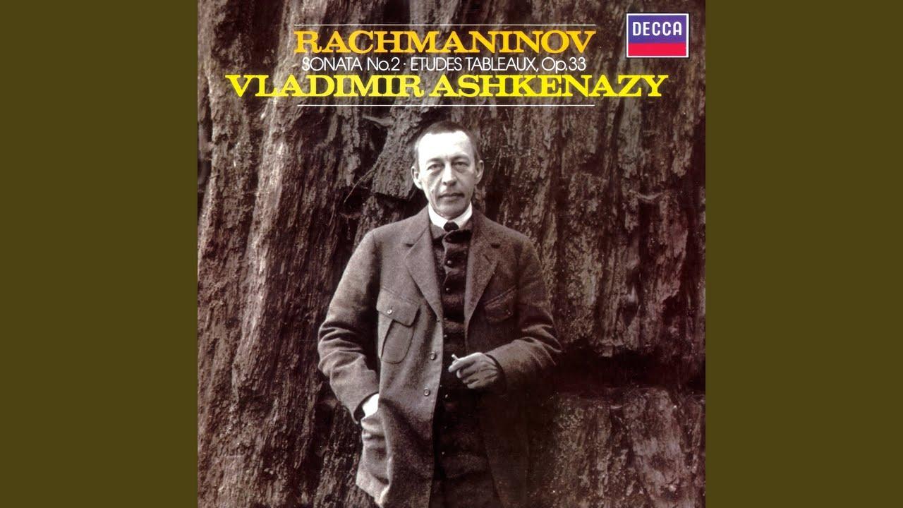 Rachmaninov Etude Tableau In E Flat Op 33 No 7 Vladimir Ashkenazy Shazam